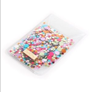 Packed Party Accessories - Packed Party Sugar Rush Confetti Phone Wallet